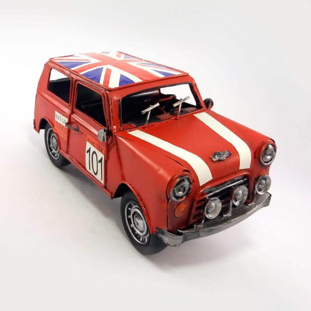 Carro Metal Decorativo corrida Inglaterra
